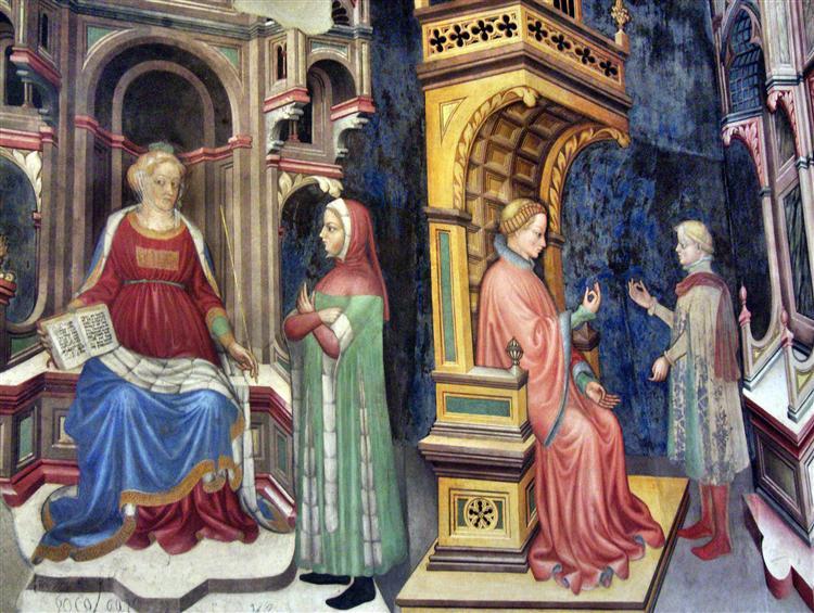 Philosophy and Grammar - Gentile da Fabriano