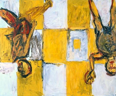 Adieu, 1982 - Georg Baselitz