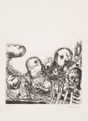 Heads, 1964 - Georg Baselitz