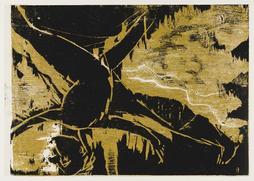 Jumping Figure, 1982 - Georg Baselitz