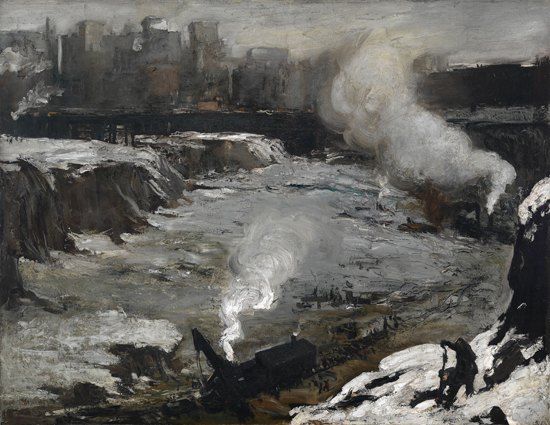 Pennsylvania Excavation, 1907 - George Bellows