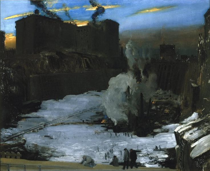 Pennsylvania Station Excavation - George Bellows