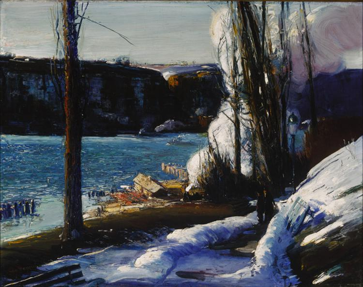 The Palisades, 1909 - George Bellows