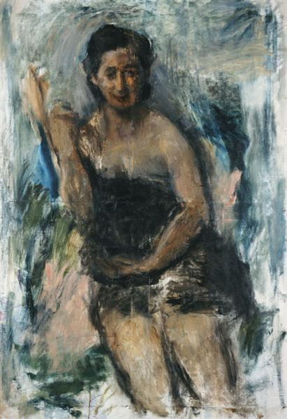 Liza Kottou, 1947 - George Bouzianis
