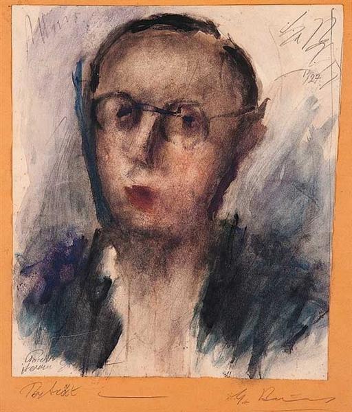 Portrait, 1927 - George Bouzianis