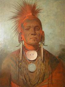 See-non-ty-a, an Iowa Medicine Man - Джордж Кетлін