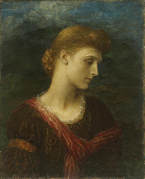 Violet Lindsay, 1881 - George Frederick Watts