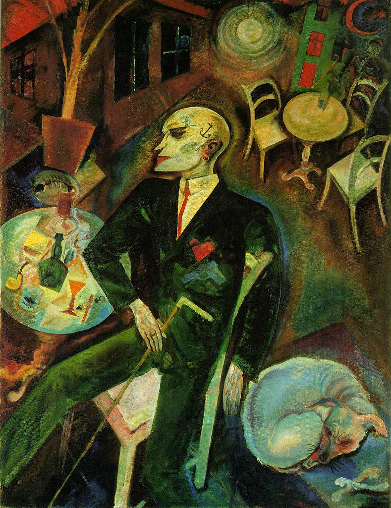 George Grosz The-lovesick-man-1916
