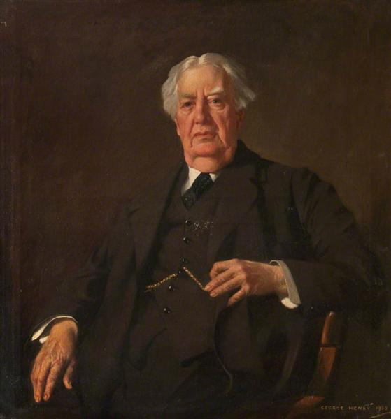 Sir Hector Clare Cameron, President of the Faculty of Physicians and Surgeons of Glasgow, 1925 - George Henry