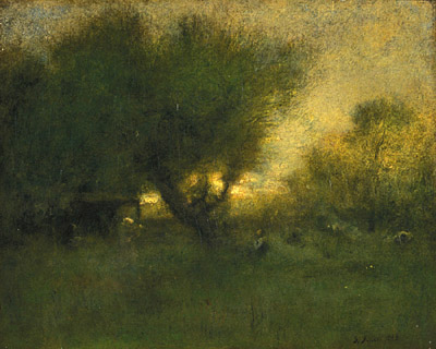 In the Gloaming, 1893 - George Inness