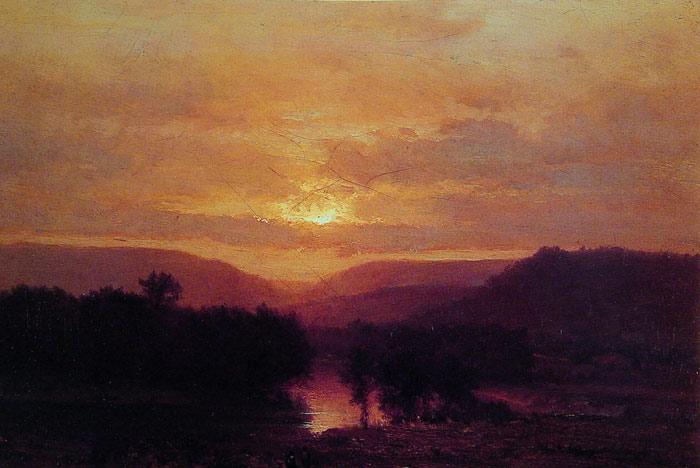 Sunset, 1865
