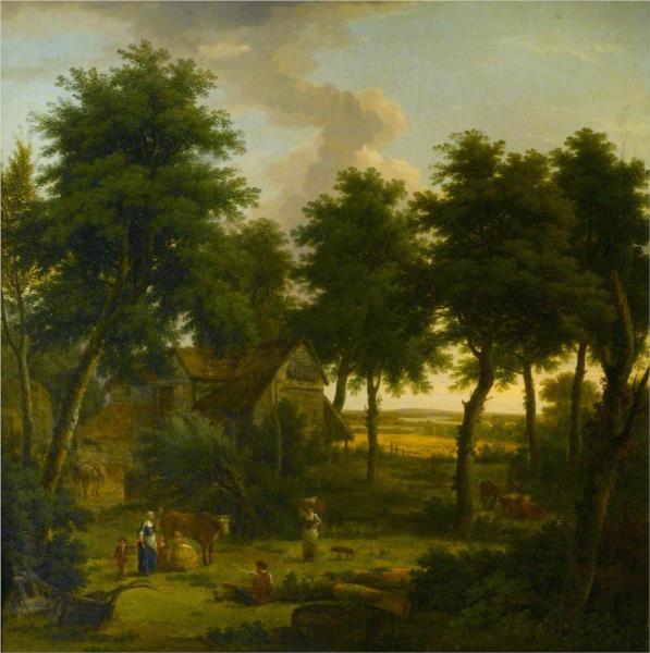 Landscape with Figures, 1757 - George Lambert