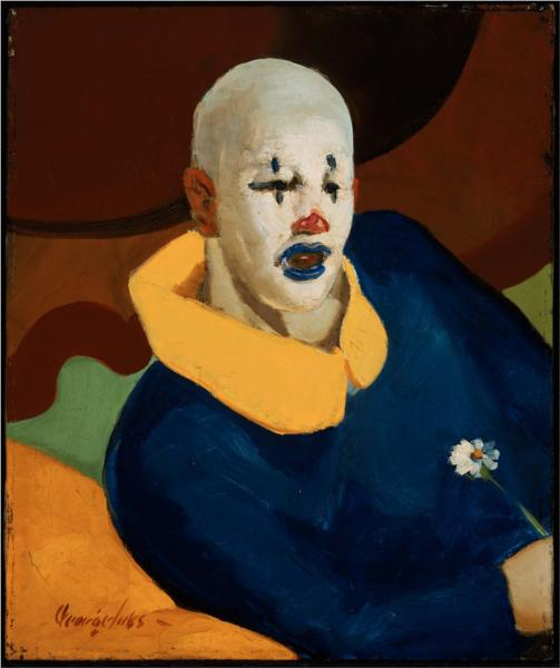 A Clown - George Luks
