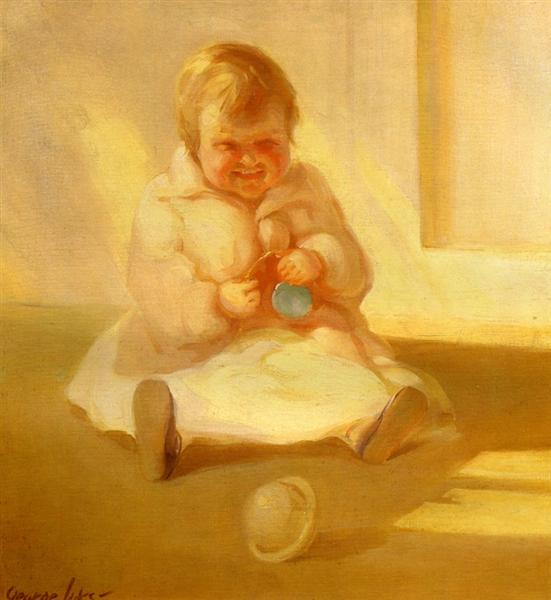 Child with a Toy, 1919 - George Luks
