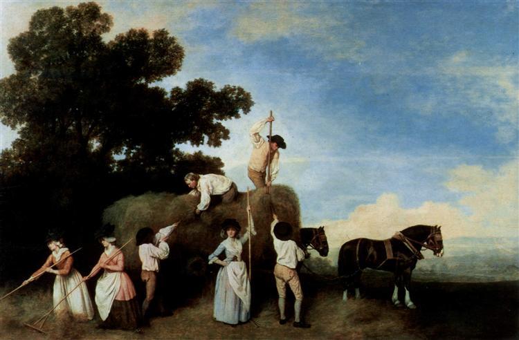 Hay Makers - George Stubbs