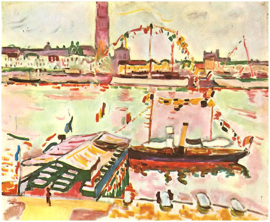 Antwerp Harbor, 1905