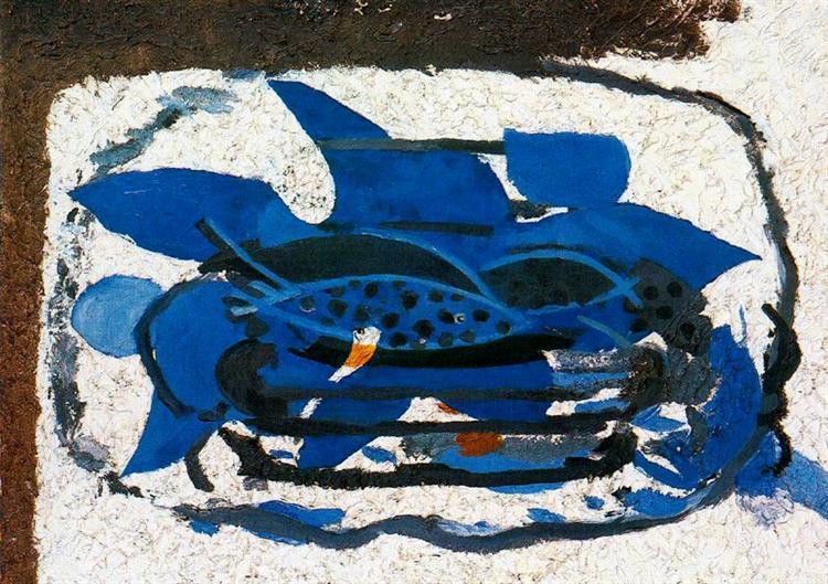 Blue Aquarium, 1962 - Georges Braque