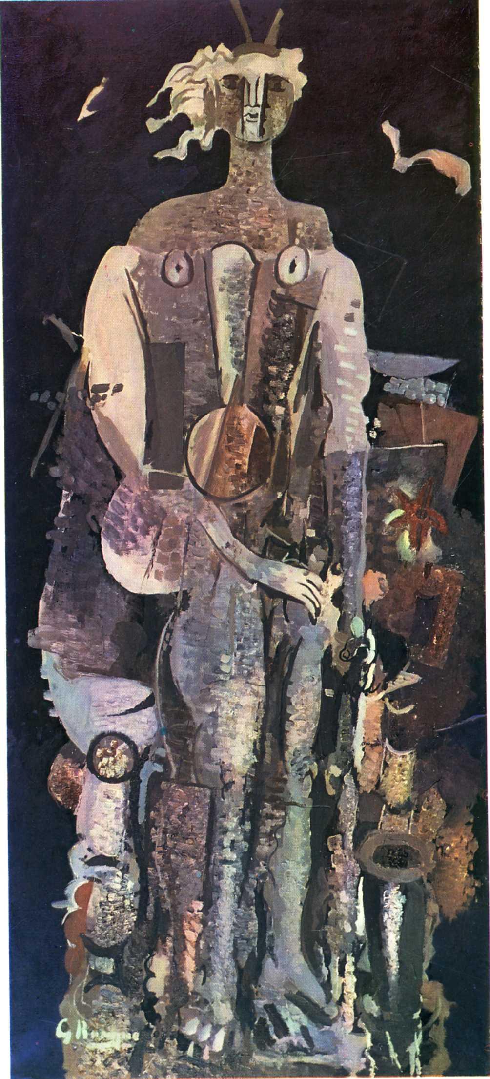 Zorz Brak ( Georges Braque ) - Page 3 Night-1951