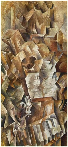 Piano and Mandolin, c.1909 - Georges Braque