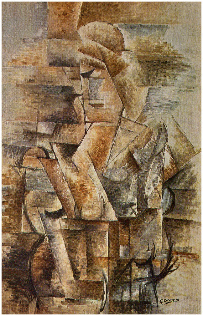 portrait of a woman georges braque. Black Bedroom Furniture Sets. Home Design Ideas
