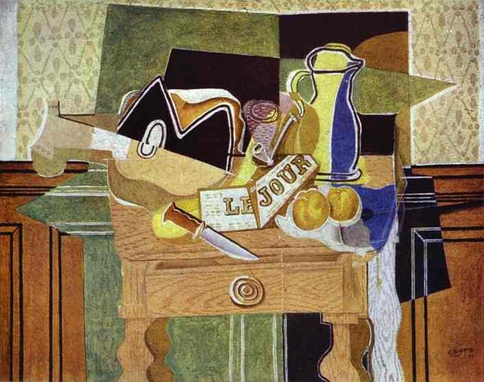 "Still Life with ""Le Jour"", 1929 - Georges Braque"