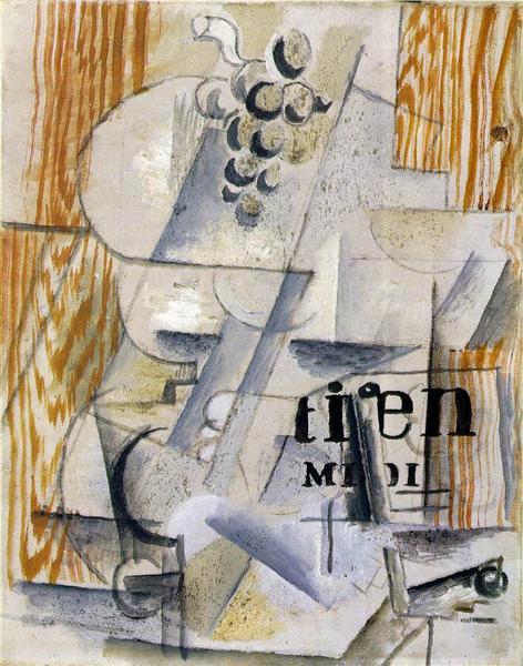 The Fruitdish, 1912 - Georges Braque