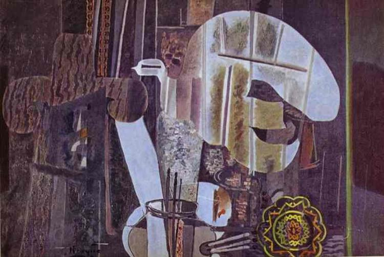 The Studio (IV), 1950 - Georges Braque