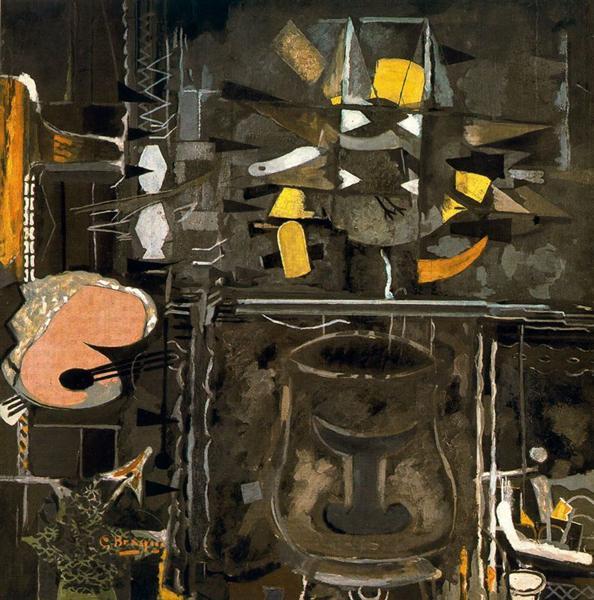 The Studio (IX), 1954 - Georges Braque