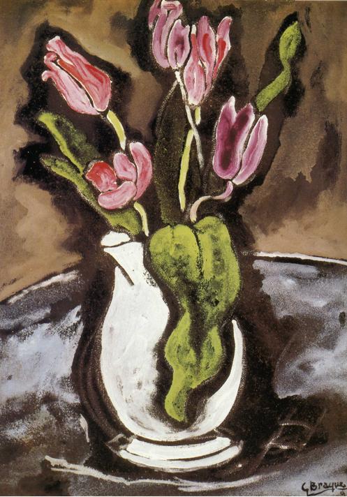 Vase of Tulips, 1927