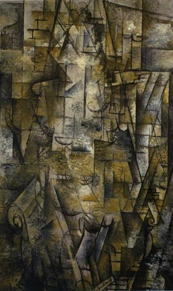 Woman Reading, 1911 - Georges Braque