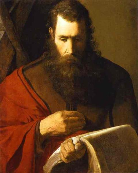 St. Andrew, 1615 - 1620 - Georges de La Tour