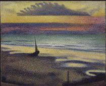 Beach at Heist - Жорж Леммен