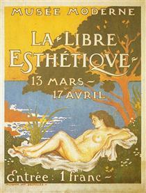 Exhibition poster for La Libre Esthétique - Жорж Леммен