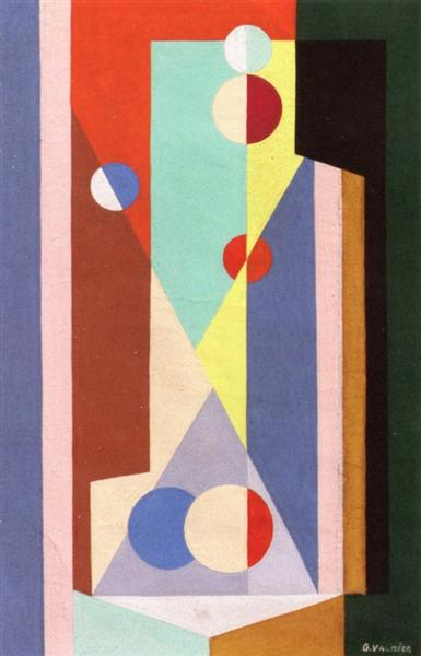 Geometric Composition, 1930 - Georges Valmier