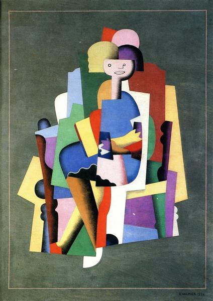 Girl Reading, 1924 - Georges Valmier