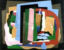 La porta rosa - Georges Valmier