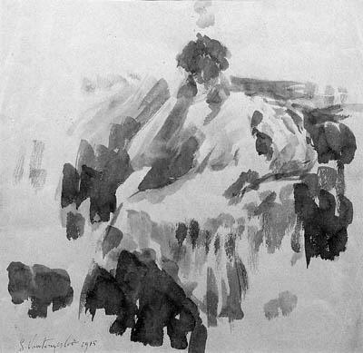 A seated lady - Жорж Вантонгерло