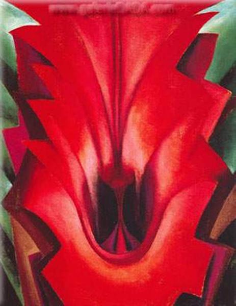 Inside Red Canna, 1919 - Georgia O'Keeffe