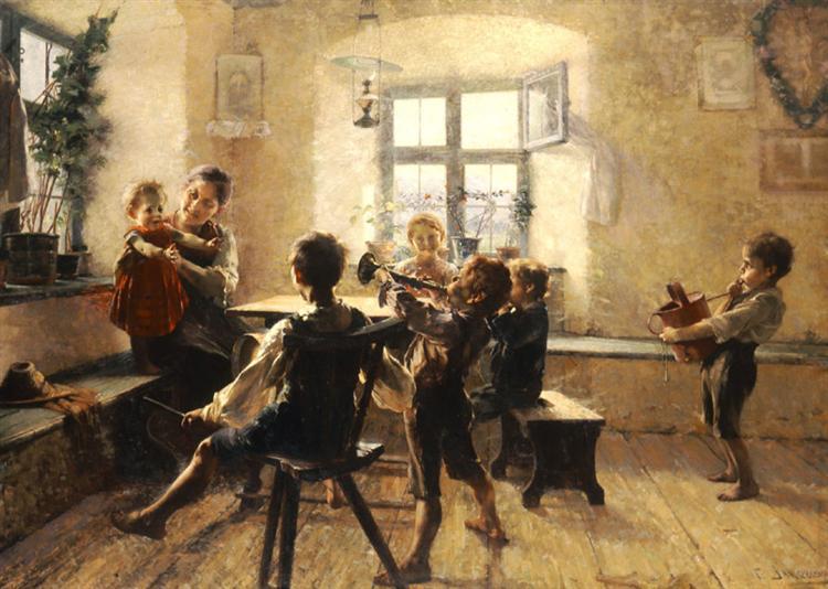 Children's concert, 1900 - Georgios Jakobides