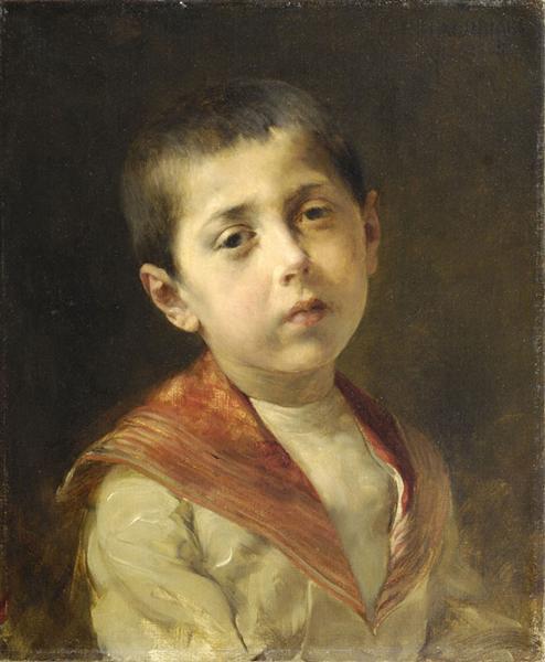 Potrait of Vassilakis Melas, 1885 - Georgios Jakobides