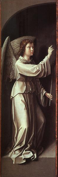 The Angel of the Annunciation, c.1510 - Gerard David