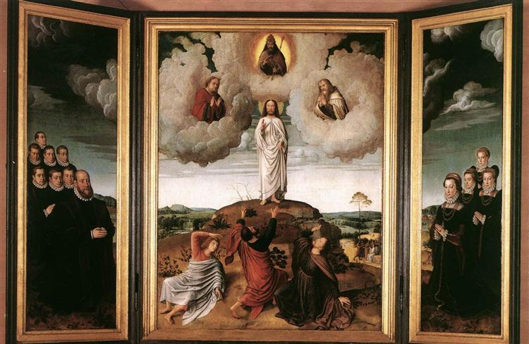 The Transfiguration of Christ, 1520 - Gerard David