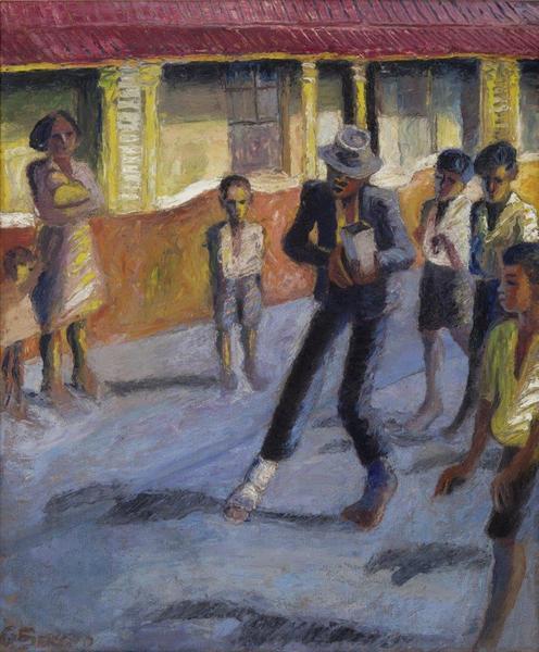 STREET MUSCIAN, 1944 - Gerard Sekoto