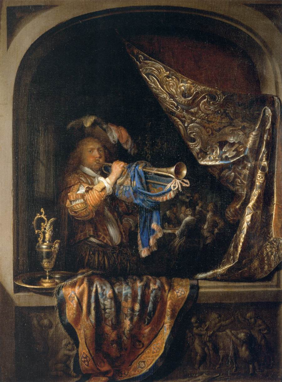 baroque trumpet painting - photo #8