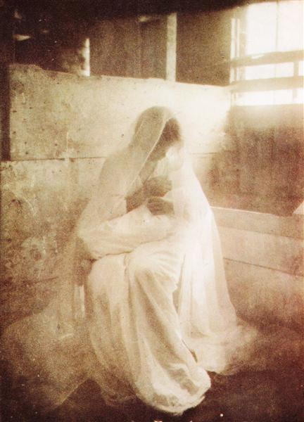 The Manger, 1899 - Gertrude Kasebier
