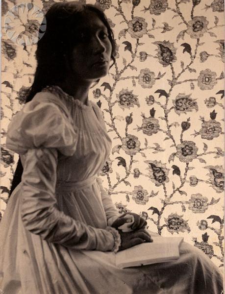 Zitkala-Sa, 1898 - Gertrude Kasebier