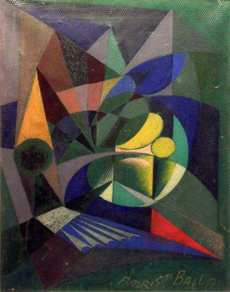 Plastic Colour, 1918 - Giacomo Balla