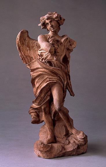 Angel with the Inscription of I.N.R.I., c.1660 - Gian Lorenzo Bernini