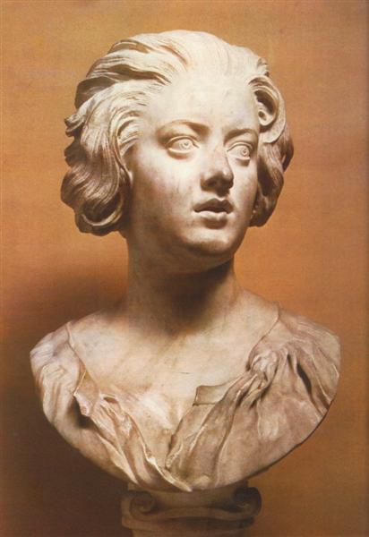 Bust of Costanza Buonarelli, c.1635 - Gian Lorenzo Bernini