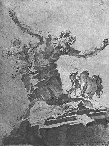 St. Jerome, 1665 - Лоренцо Берніні